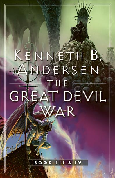 THE GREAT DEVIL WAR III & IV 72dpi forside